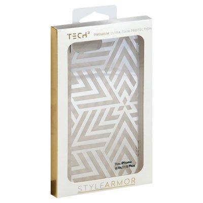 Tech2 Phone Case, Premium, Ultra-Thin, Fits iPhone 6/6s/7/8 Plus