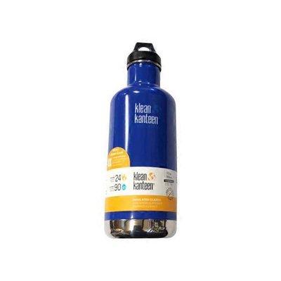 Klean Kanteen 20-Ounce Blue Vacuum Insulated Stainless Steel Water Bottle