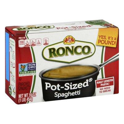 Ronco Spaghetti, Enriched, Pot-Sized