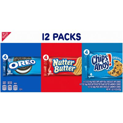 Nabisco Snack Pack Variety Cookies Mix