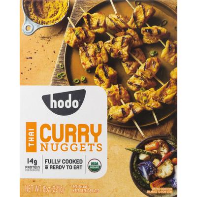 Hodo Nuggets, Organic, Thai Curry