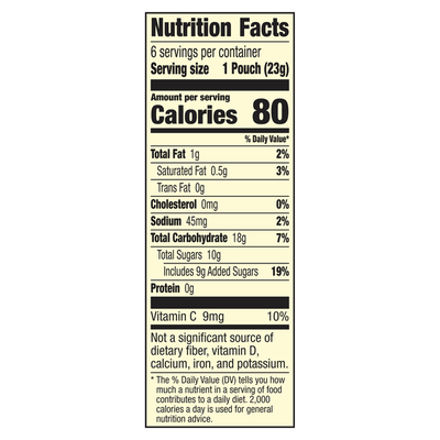 Fruit Gushers Fruit Flavored Snacks, Tropical Flavors, 6 Pack