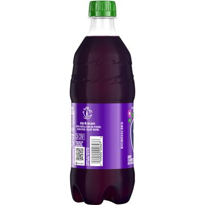 Fanta Grape Soda Fruit Flavored Soft Drink