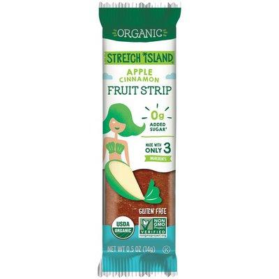 Stretch Island Fruit Organic Apple Cinnamon Fruit Strip