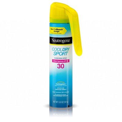 Neutrogena® Cool Dry Sport Sunscreen Spray Broad Spectrum SPF 30