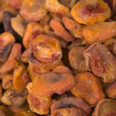 All Natural Dried White Peaches