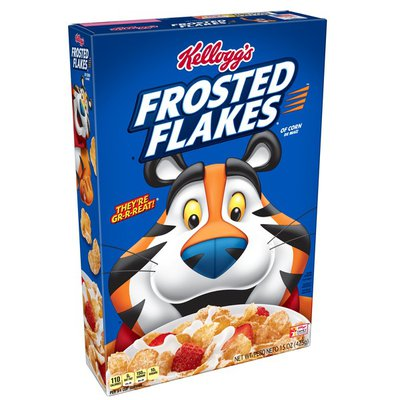 Kellogg's Breakfast Cereal Frosted Flakes Original