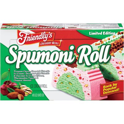 Friendly's Spumoni Limited Edition Ice Cream Roll