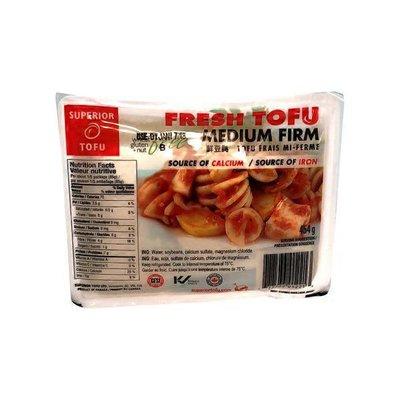Tofu Superior Sn Ulc Fresh Medium Firm Tofu