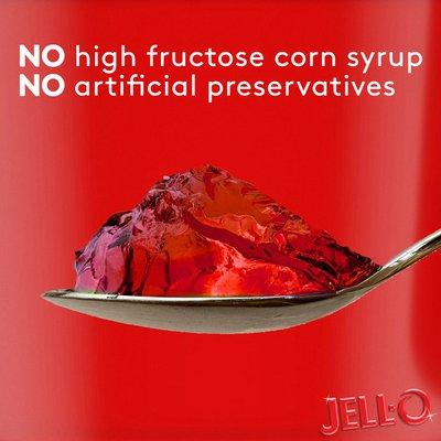 Jell-O Strawberry Sugar Free Ready-to-Eat Jello Cups Gelatin Snack