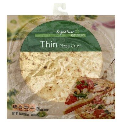 Signature Kitchens Pizza Crust, Thin