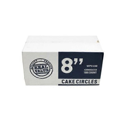 8 Inch White Pizza Or Cake Circle