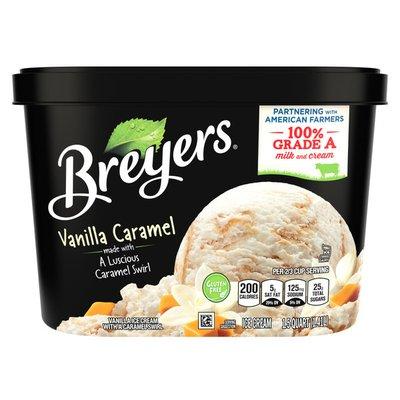 Breyers Ice Cream Vanilla Caramel