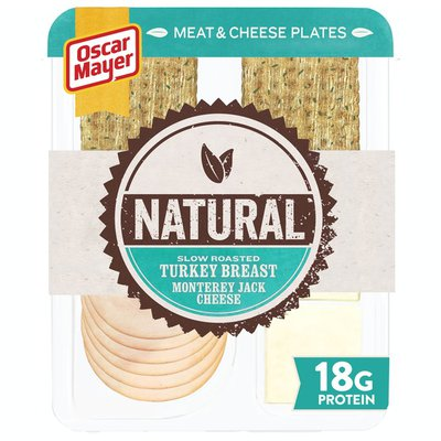 Oscar Mayer Natural Slow Roasted Turkey Breast & Monterey Jack Meat & Cheese Plate