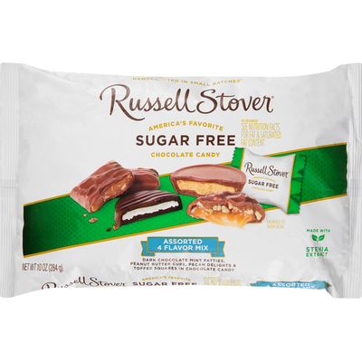Russell Stover Chocolate Candy, Sugar Free, Assorted 4 Flavor Mix