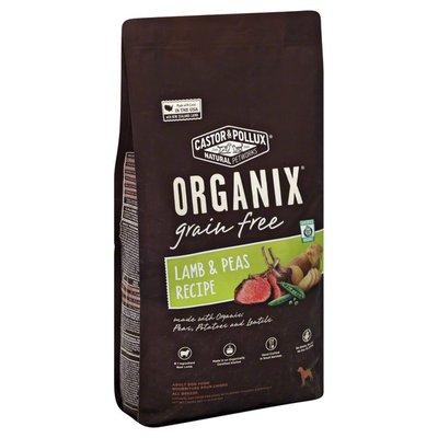 Organix Dog Food, Grain Free, Lamb & Peas Recipe, Adult