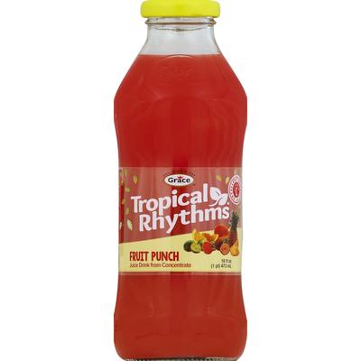 Grace & I Tropical Rhythms - Fruit Punch Juice Drink