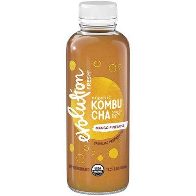 Evolution Fresh Organic Kombu Cha Congou Black Tea & Mango Pineapple Sparkling Probiotic Tea
