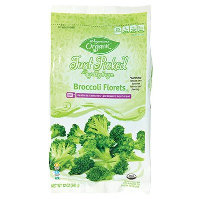Wegmans Organic Food You Feel Good About Just Picked and Quickly Frozen Broccoli Florets