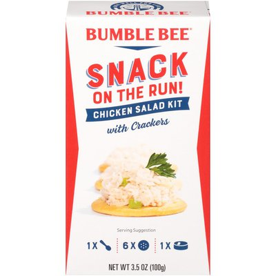 Bumble Bee Snack on the Run! Chicken Salad with Crackers Kit