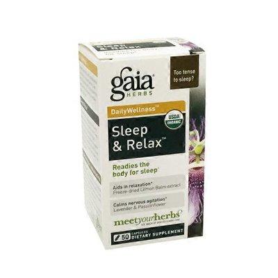 Gaia Herbs Daily Wellness Sleep & Relax