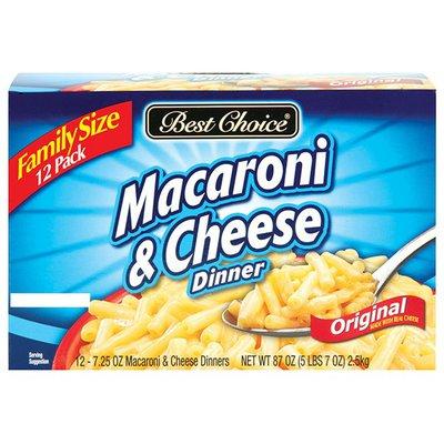 Best Choice Dinner Macaroni & Cheese
