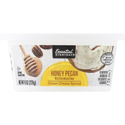 Essential Everyday Cream Cheese Spread, Honey Pecan