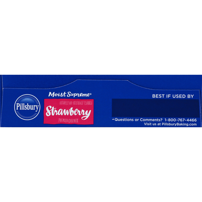 Pillsbury Cake Mix, Premium, Strawberry