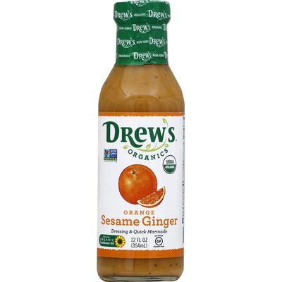 Drew's Dressing & Quick Marinade, Sesame Orange