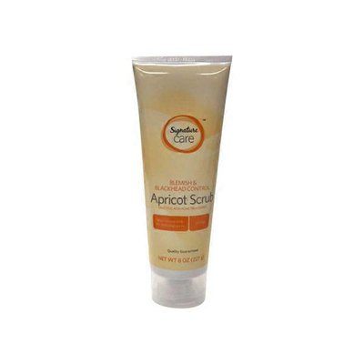 Signature Care Blemish & Blackhead Control Apricot Scrub Salicylic Acid Acne Treatment