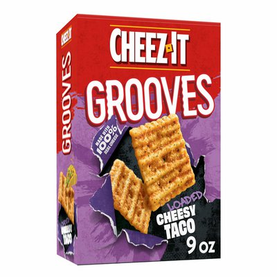 Cheez-It Crunchy Cheese Snack Crackers, Perfect for Snacking, Loaded Cheesy Taco