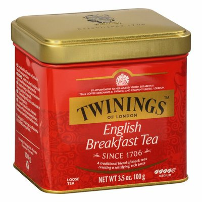 Twinings Black Tea, English Breakfast, Loose Tea