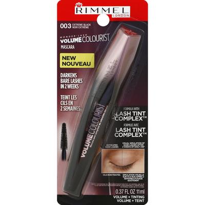 Rimmel Mascara, Volume Colourist, Extreme Black 003