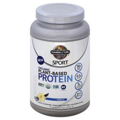 Garden of Life Protein, Plant-Based, Organic, Vanilla