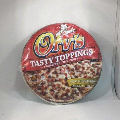 Orvs Pizza, Bacon Cheeseburger, 12 Inch