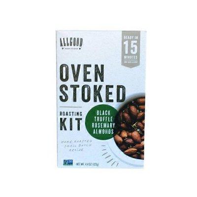 Allgood Provisions Oven Stoked Black Truffle Rosemary Almonds Roasting Kit