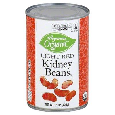 Wegmans Organic Kidney Beans, Light Red