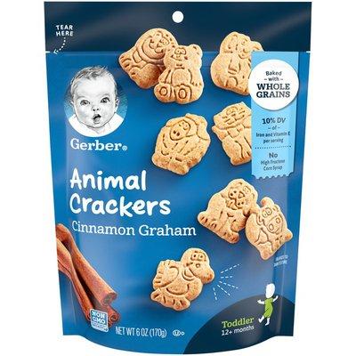 Gerber Animal Crackers, Cinnamon Graham