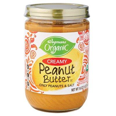 Wegmans Organic Natural Peanut Butter Creamy