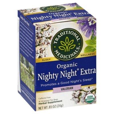 Traditional Medicinals Organic Nighty Night Extra, Caffeine Free Herbal Tea