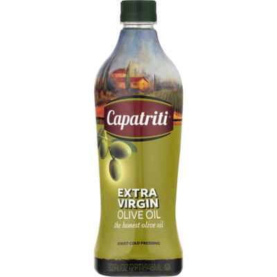 Capatriti Olive Oil, Extra Virgin, Bottle