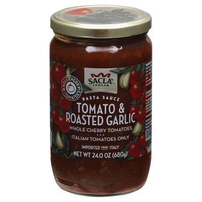 Sacla Pasta Sauce, Tomato & Roasted Garlic