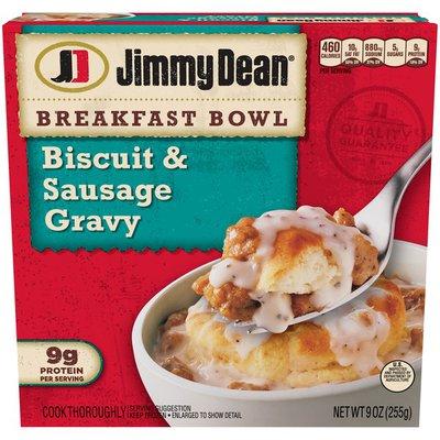 Jimmy Dean Biscuit & Sausage Gravy Breakfast Bowl