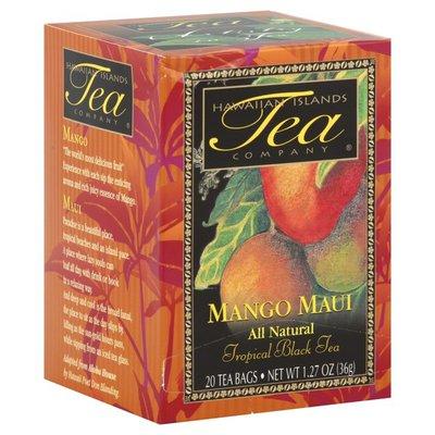 Hawaiian Island Tropical Black Tea, Mango Maui