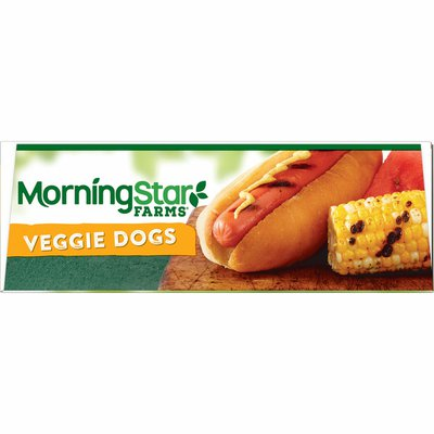 Morning Star Farms Meatless Hot Dogs, Plant Based Protein, Frozen Meal, Original