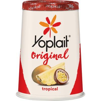 Yoplait Original Yogurt, Low Fat Yogurt, Tropical