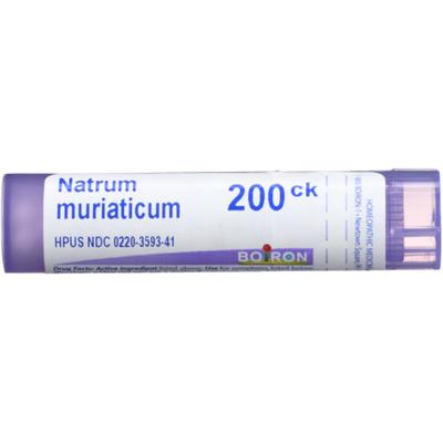 Boiron Natrum Muriaticum 200Ck, Homeopathic Medicine for Runny Nose