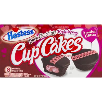 Hostess CupCakes Dark Chocolate Raspberry