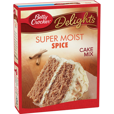 Betty Crocker Super Moist Spice Cake Mix