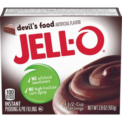 Jell-O Devil's Food Instant Pudding & Pie Filling Mix